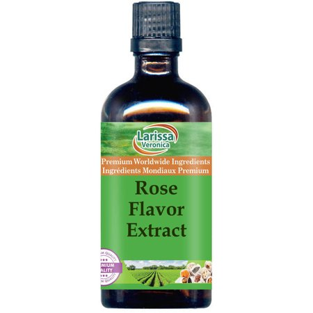 Rose Flavor Extract (Organic) (4 oz, ZIN: 527370)