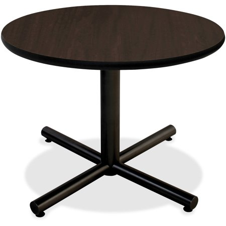 Lorell, LLR62580, Hospitality Espresso Laminate Round Tabletop, 1 (Lorell Round Tabletops)