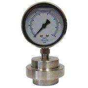 KODIAK KC301L2530/DSM3512LP Pressure Gauge,1/2 in. FNPT,0 to 30 psi