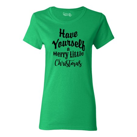 Do It Yourself Christmas Shirts.Have Yourself A Merry Christmas Shirt Womens T Shirt Top