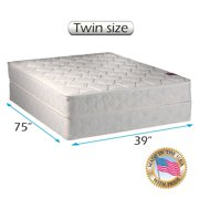 """Dream Solutions American Legacy Gentle Firm 8"""" Innerspring Mattress and Box Spring Set"""