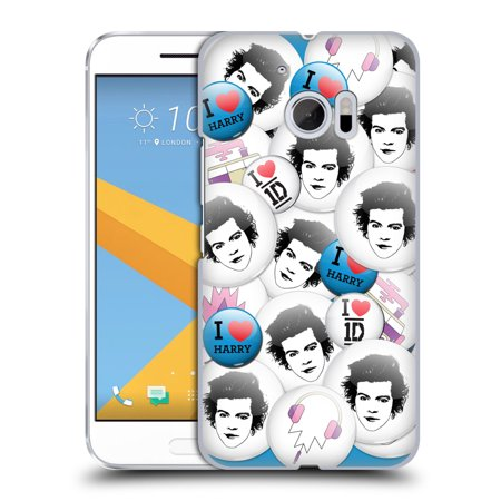 OFFICIAL ONE DIRECTION BUTTON PINS HARD BACK CASE FOR HTC