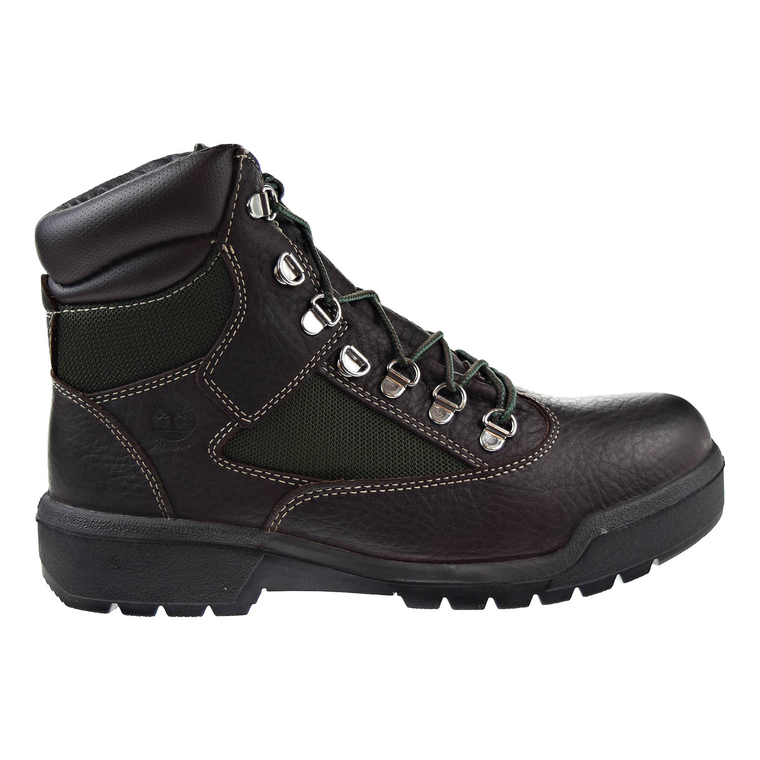 Timberland 6 Inch Field Waterproof Mens Boots Dark Brown tb0a1nlf by Timberland