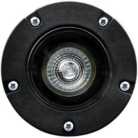 Dabmar Lighting LV342-B 35W 12V Polybutylene Terephthalate Adjustable In-Ground Well Light,