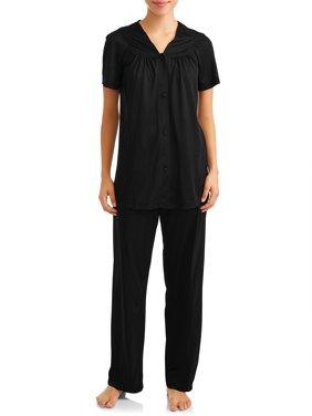 Lissome Women?s and Women?s Plus Size Pajamas, 2-Pc. Set