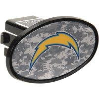 "Los Angeles Chargers Plastic Oval Fixed 2"" Digi Camo Hitch Receiver - No Size"