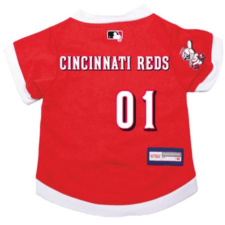 Cincinnati Reds Dog Pet Premium Alternate Jersey LARGE