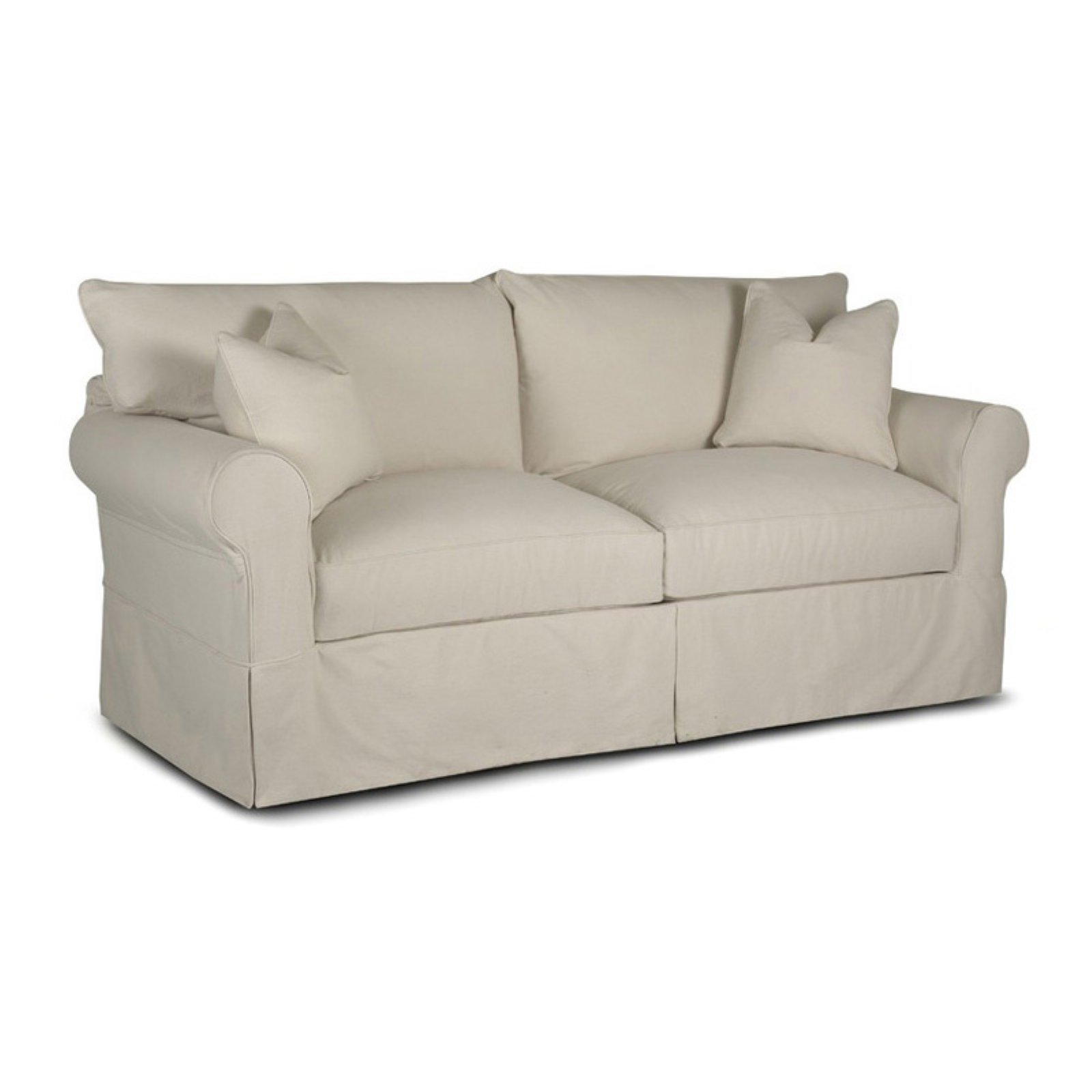 Delicieux Klaussner Jenny Sofa   Bull Natural
