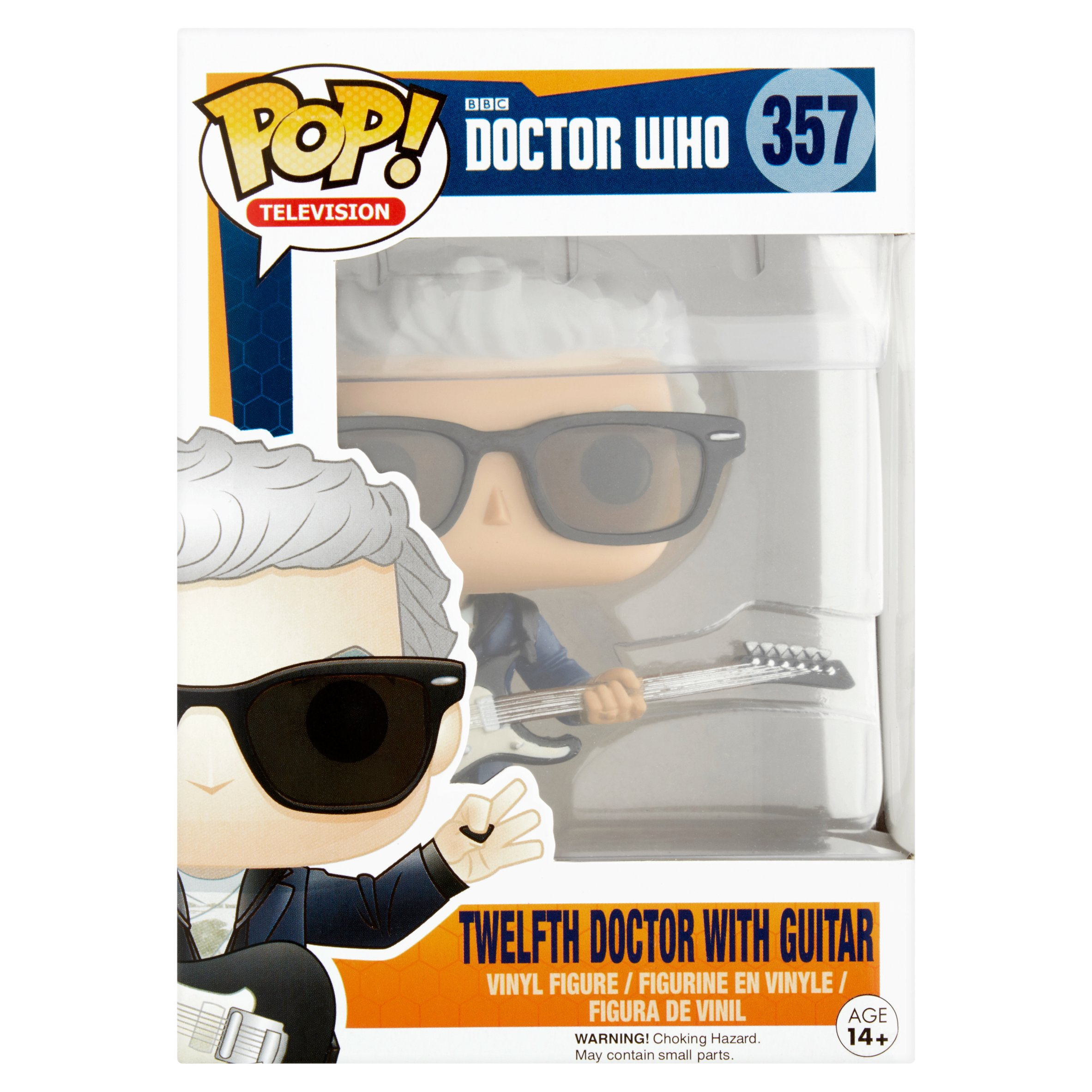 Pop! Television BBC Doctor Who 357 Twelfth Doctor with Guitar Vinyl Figure Age 14+