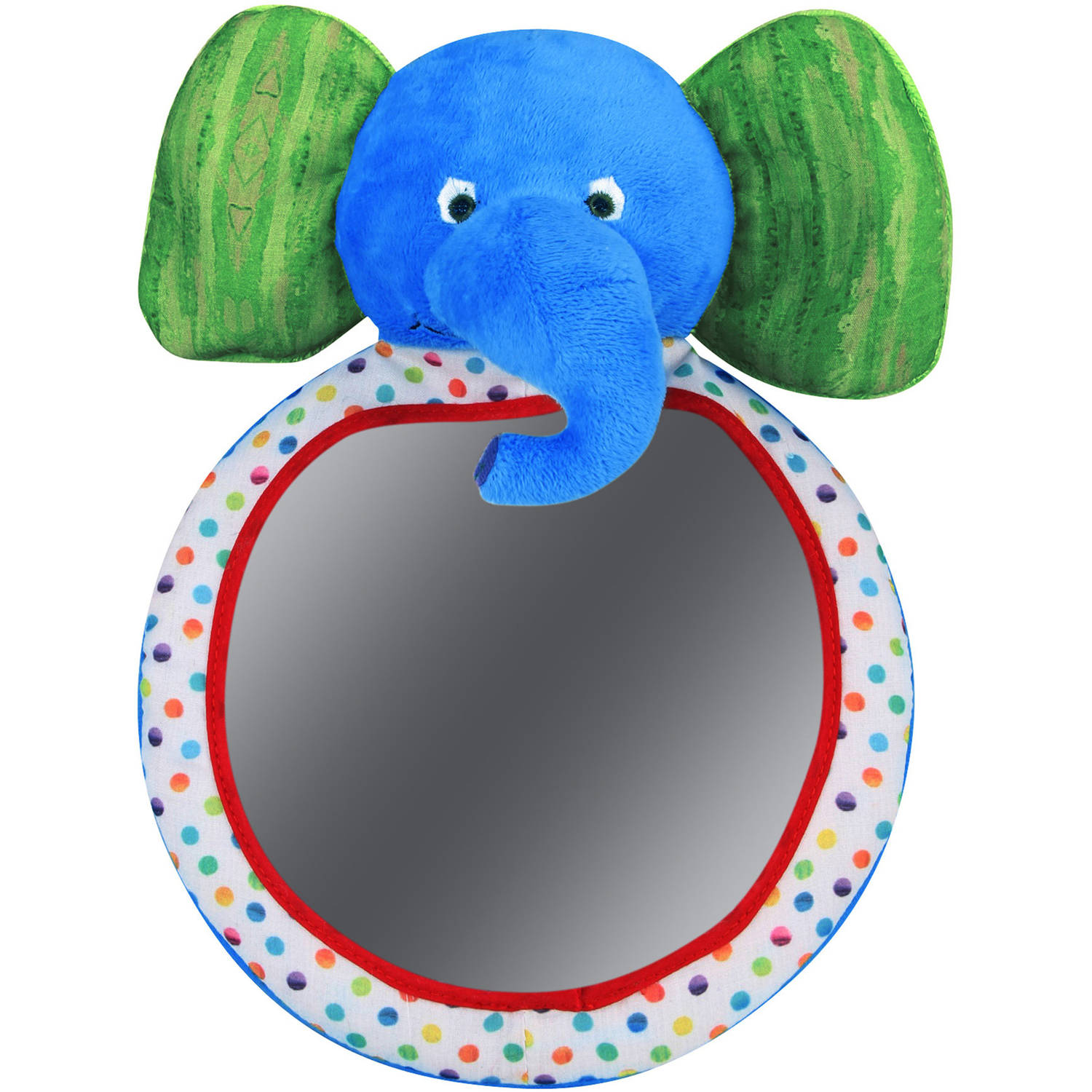 Eric Carle Elephant Backseat Baby View Mirror