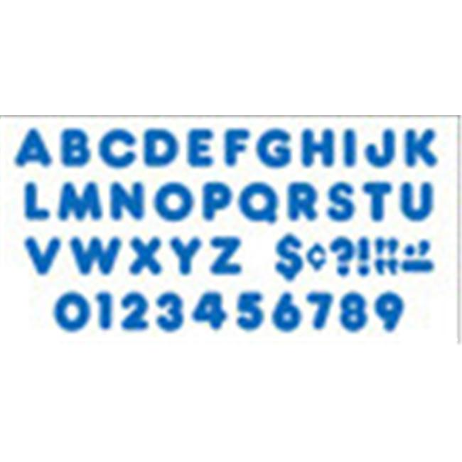 Ready Letters 4 Inch Casual Blue