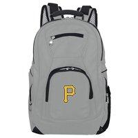 MLB Pittsburgh Pirates Gray Premium Laptop Backpack
