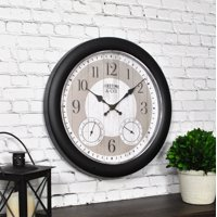 "FirsTime & Co.® 12"" Summer Cottage Outdoor Clock"
