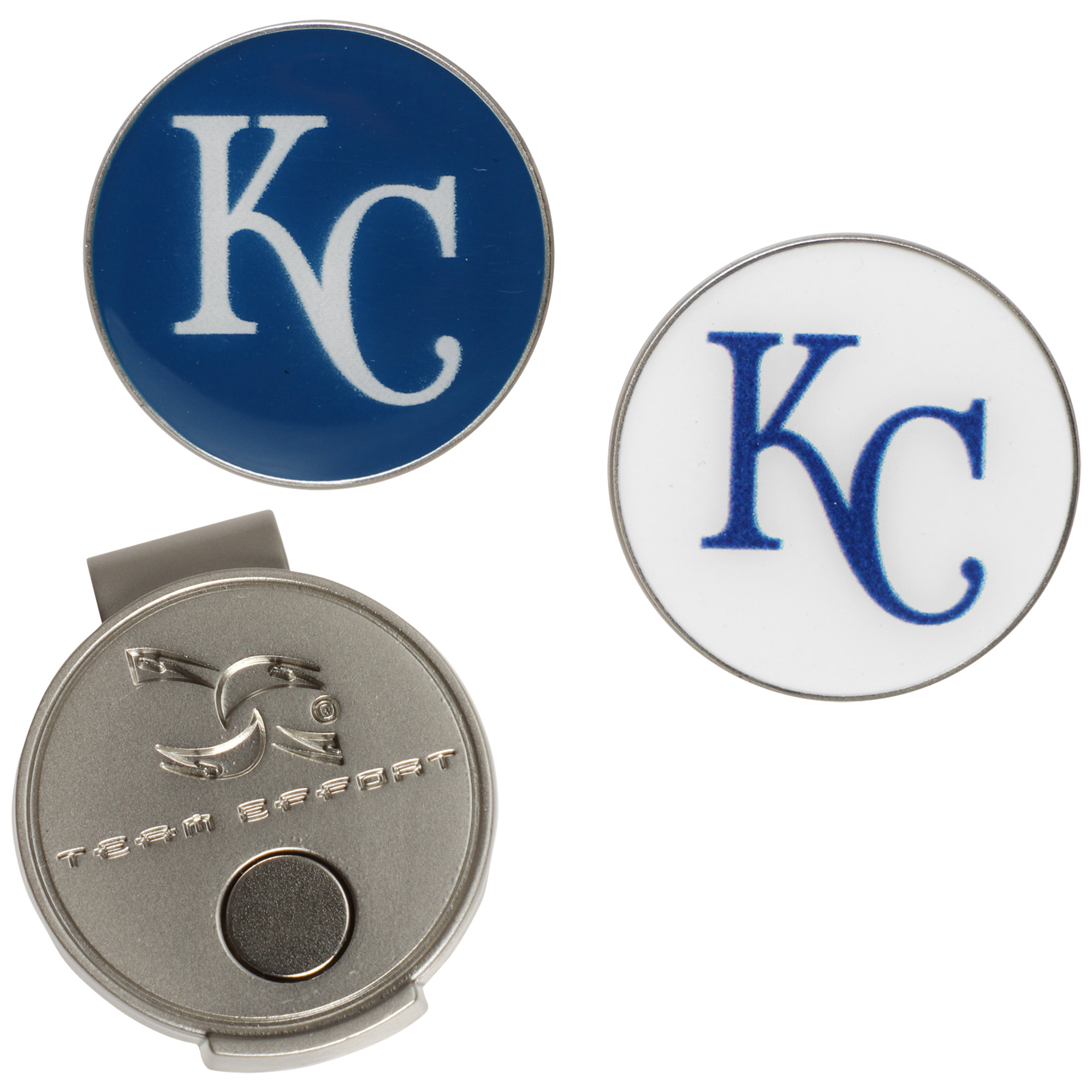Kansas City Royals Hat Clip & Ball Markers Set - No Size