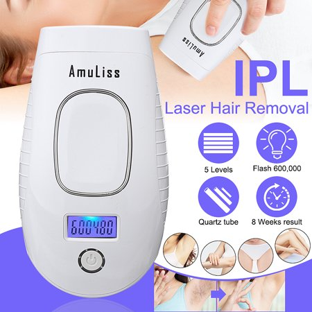 IPL Laser Hair Removal Remover Device Painless 5/7 levels Mini System Instrument Household  Permanent Photonic Freezing Professional Shaver For Face Leg Body Skin Top Women & (The Best Home Laser Hair Removal System)