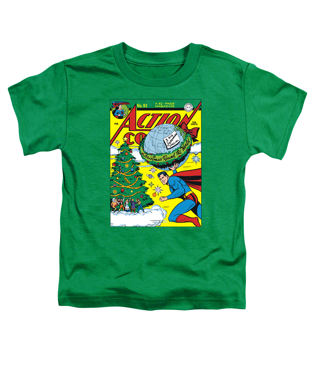 Trevco DC COVER NO. 93 Kelly Green Toddler Unisex T-Shirt
