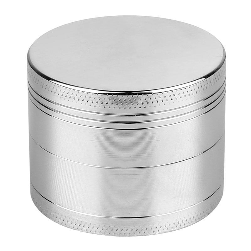 Herb Spice Grinder Tobacco Smoke Herbal Crusher Small Metal Red 4 Layer