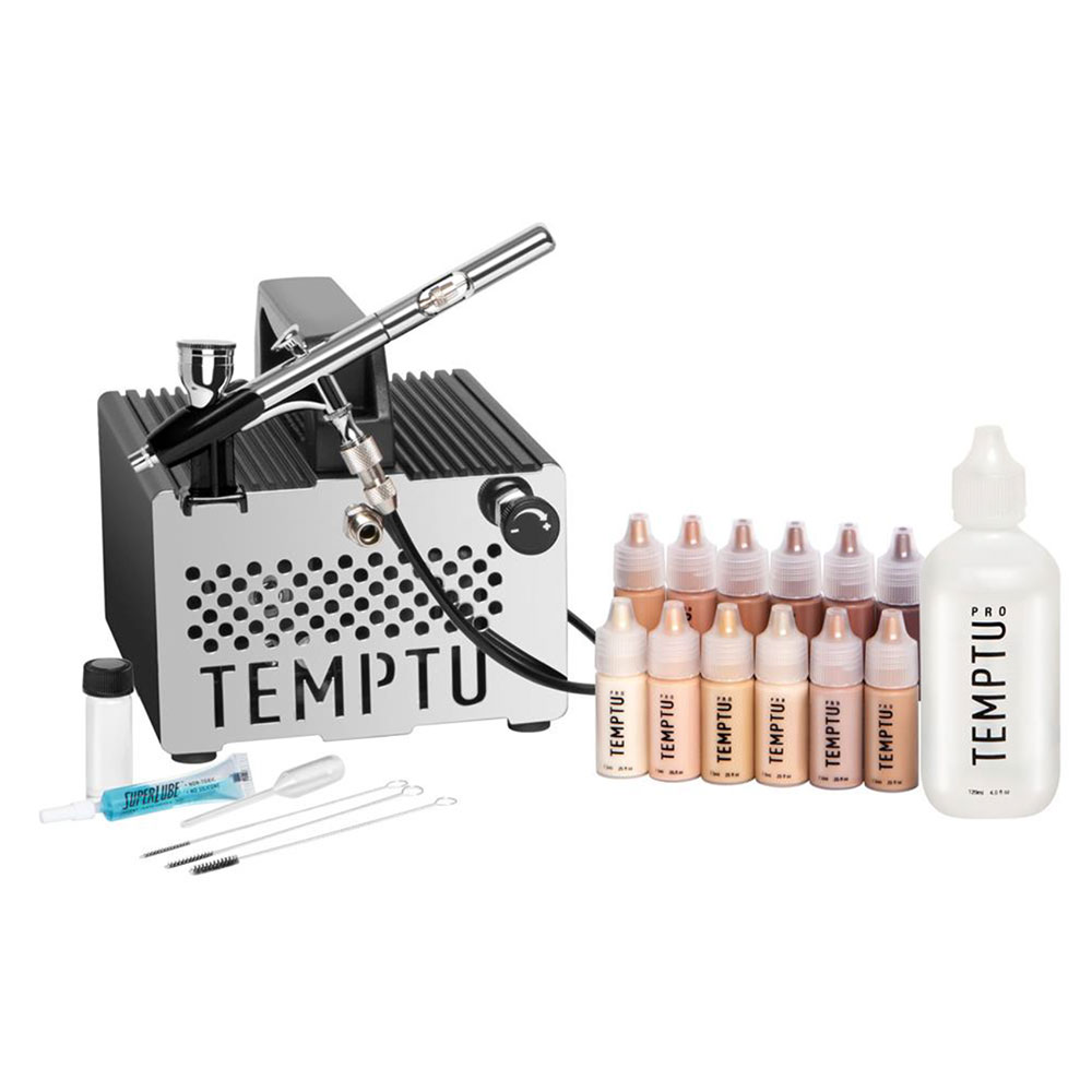 temptu temptu s one premier airbrush makeup kit walmart com walmart com