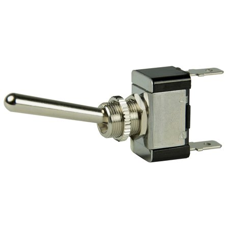Bep Marine 1002013 Bep Spst Chrome Plated Long Handle Toggle Switch - -