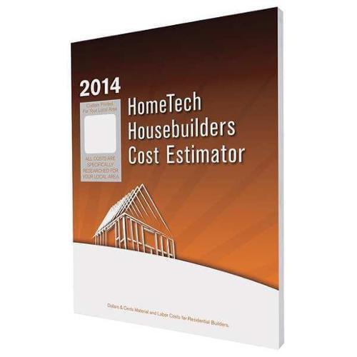 HOMETECH TX 13 HB Housebuilders Estimator,Midland