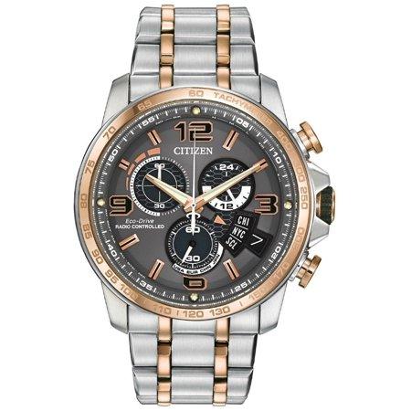 Citizen Perpetual Calendar Alarm Watch (Citizen BY0106-55H Men's World Time Perpetual Calendar A-T Chronograph)