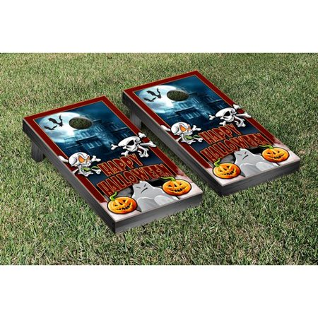 Victory Tailgate Halloween Themed Cornhole Game Set