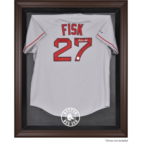 Boston Red Sox Fanatics Authentic Brown Framed Logo Jersey Display Case - No Size