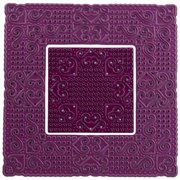 "Cheery Lynn Designs Doily Die-Lords And Commons Square, 4.125""X4.125"""