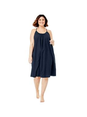 0e60d4d7a133 Womens Plus Nightshirts & Gowns - Walmart.com