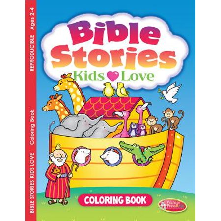 Bible Stories Kids Love : Coloring Book for Ages 2-4 (Pack of - Storybook For Kids