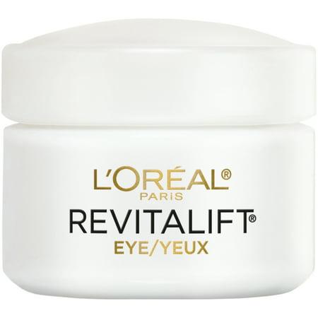 L'Oreal Paris Revitalift Anti-Wrinkle + Firming Eye Cream Moisturizer, 0.5