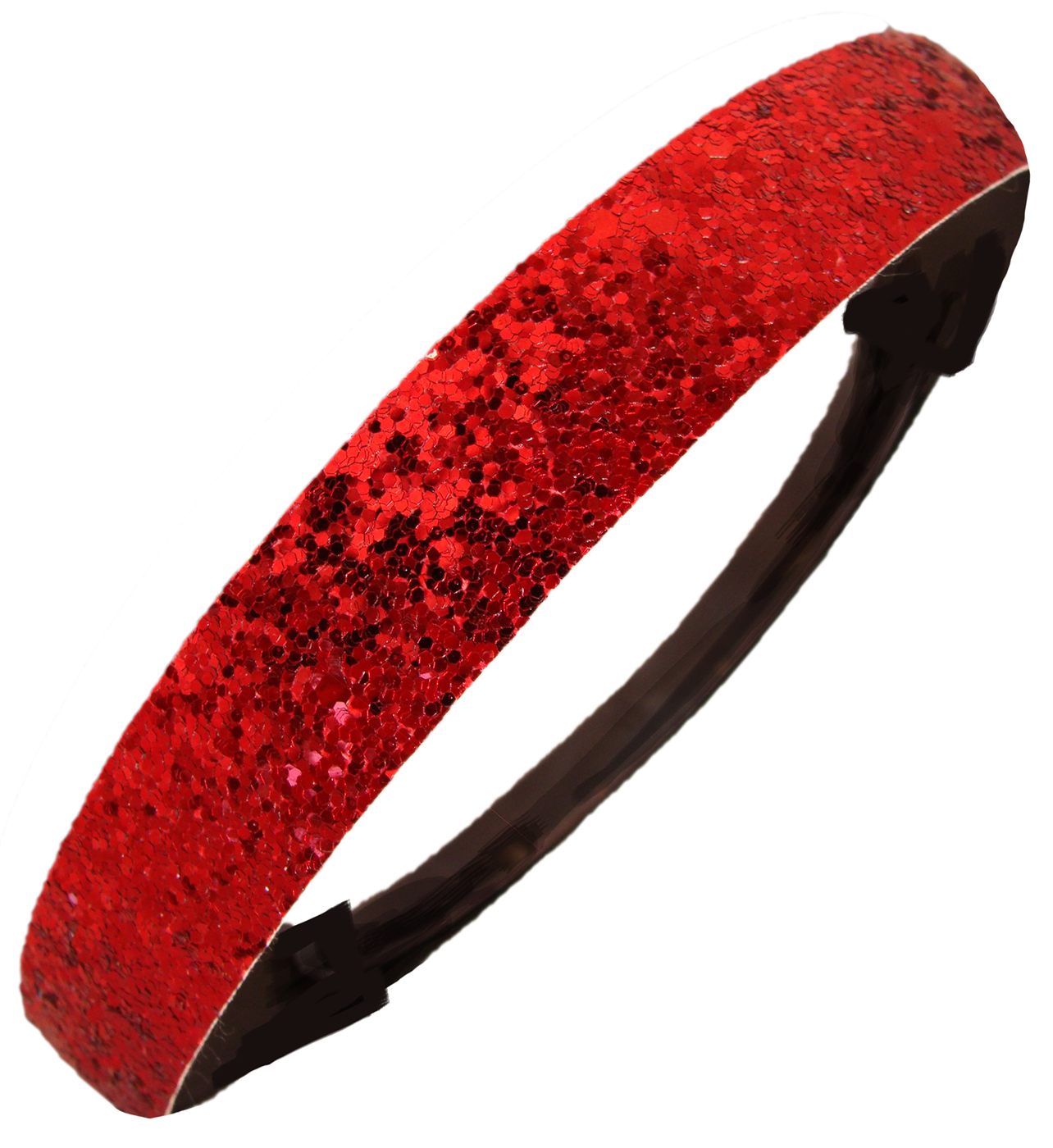 Kenz Laurenz Glitter Headband Girls Headband Sparkly Hair Head Band Red