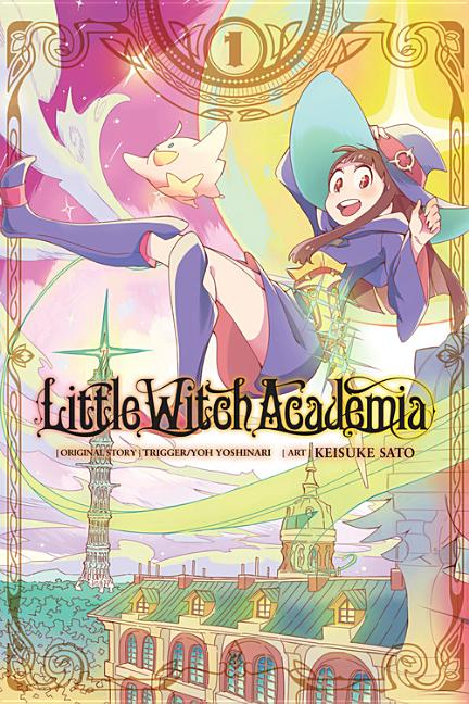 Little Witch Academia Retro Beauty Notebook Stationery Book Hard Cover Handbook