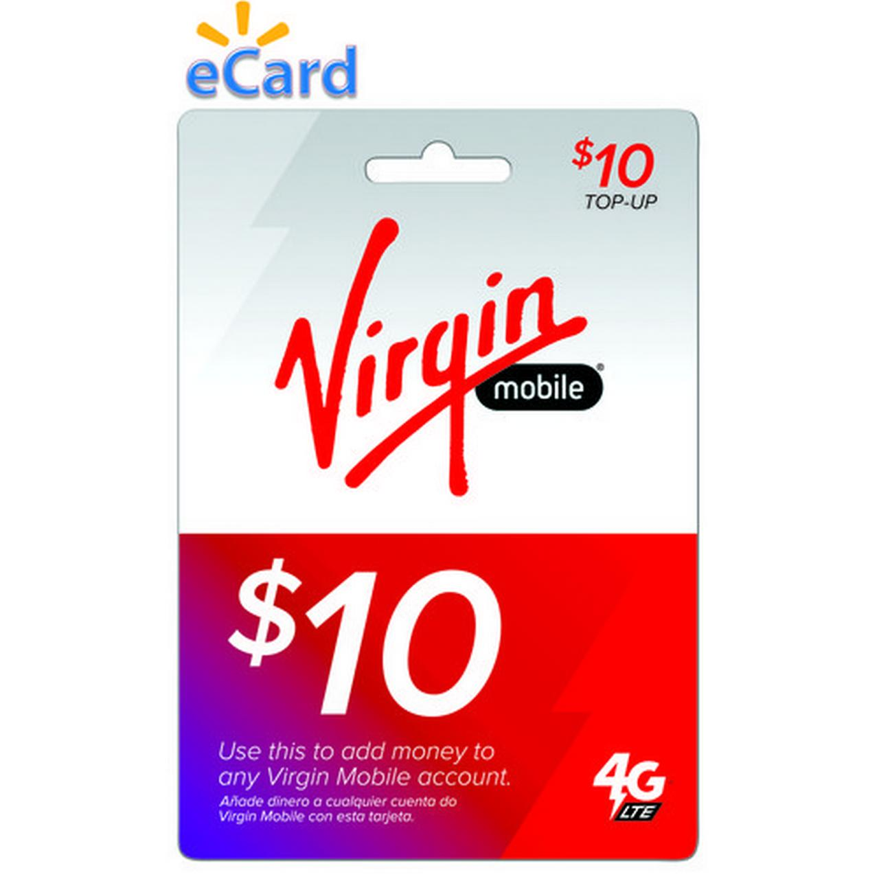 (Email Delivery) Virgin Mobile $10 Topup
