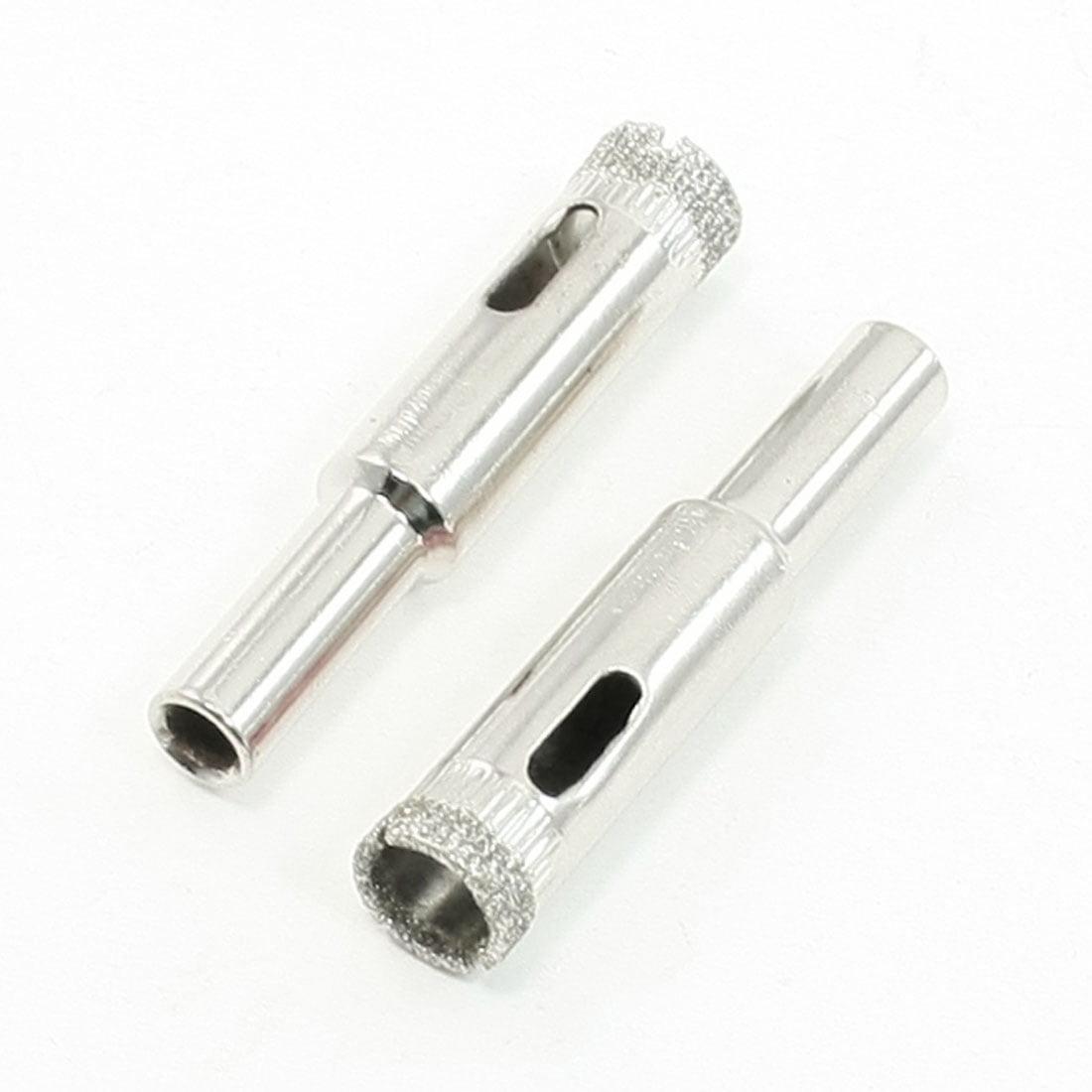 6.5 mm de diamètre Tige 10 mm Diamètre de coupe carrelage Scie-cloche pour verre 2 pcs - image 1 de 1