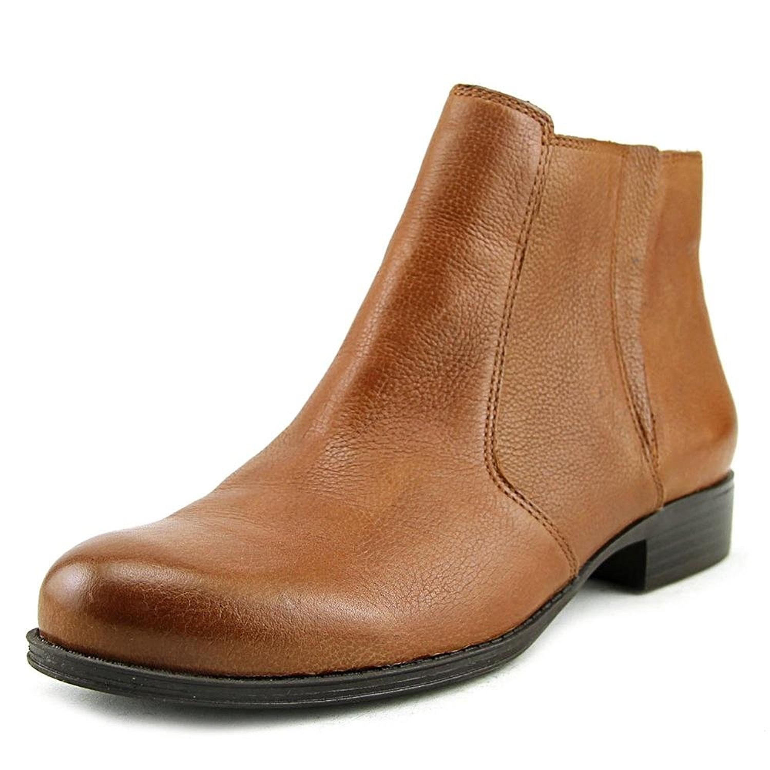 Naturalizer Womens Jump Leather Almond Toe Ankle Fashion Boots