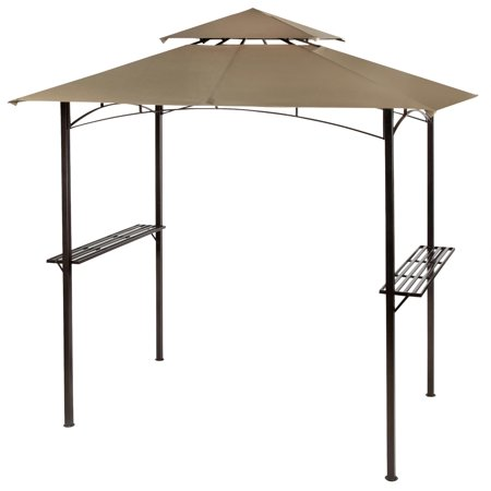 Garden Winds Replacement Canopy for the BBQ Grill Gazebo, Riplock 350