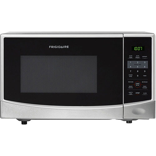 Frigidaire 0.9 Cu Ft 900W Countertop Microwave Oven, Stainless Steel by Frigidaire