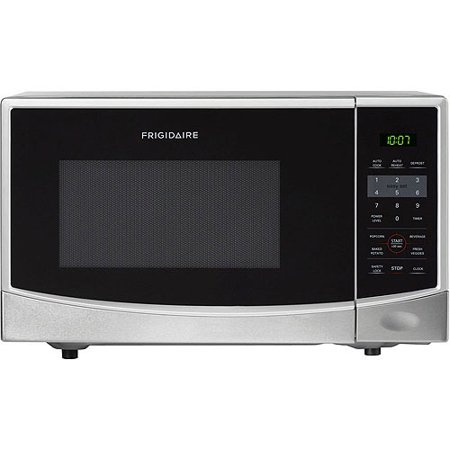 Frigidaire 0 9 Cu Ft 900w Countertop Microwave Oven Stainless Steel