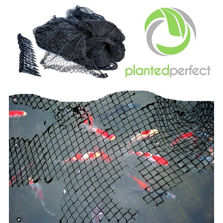 Planted Perfect Pond Net Cover - Nylon Netting for Fishpond and Pool ... f68049ab024