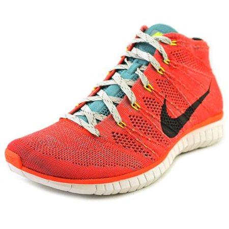 75657496f579 Nike - Nike Free Flyknit Chukka Bright Crimson Men s Running Shoes ...