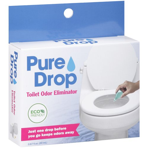 Pure Drop Toilet Odor Eliminator, 0.67 fl oz