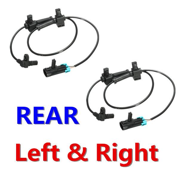 Brand Rear Left or Right side ABS Speed Sensor Fits 2007-2008 GMC Sierra 2500 HD