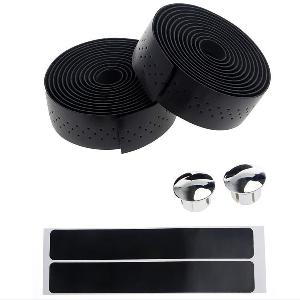Bangcool 2 Rolls Bicycle Handlebar Tape Bike Tapes Cycling Supplies for Road Bike
