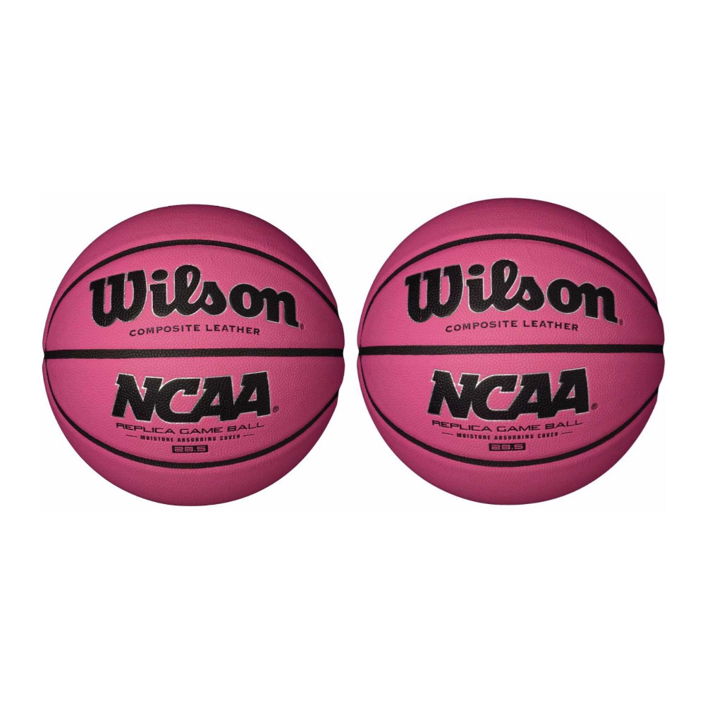 Wilson NCAA Pink Replica Game Basketball (28.5\ by Wilson Sports