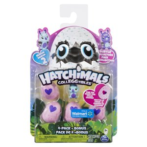 Hatchimals CollEGGtibles  Burtle 4 Pack + Bonus Available  Walmart Exclusive