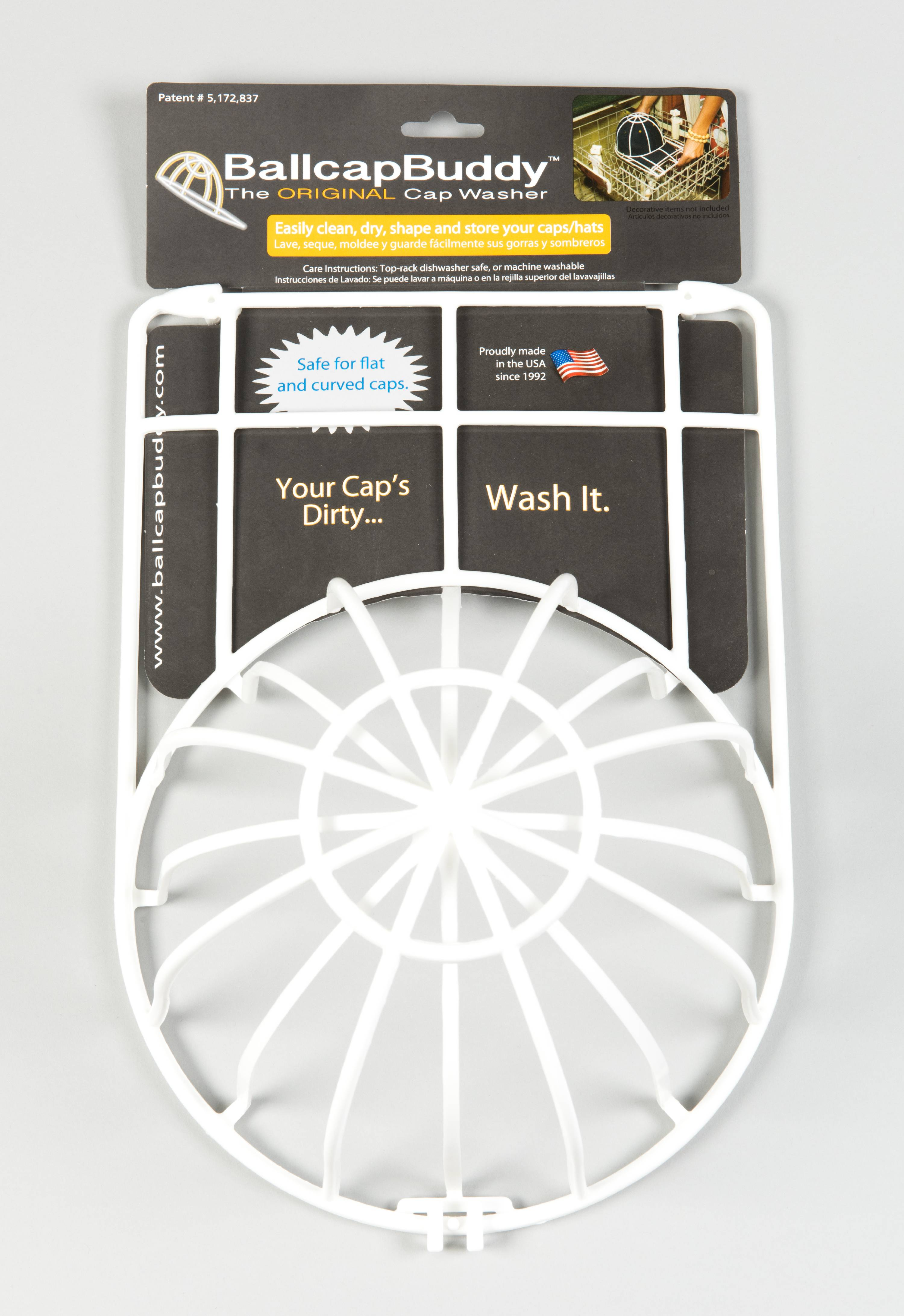 Ballcap Buddy Cap Washer endorsed by SHARK TANK the Original ...