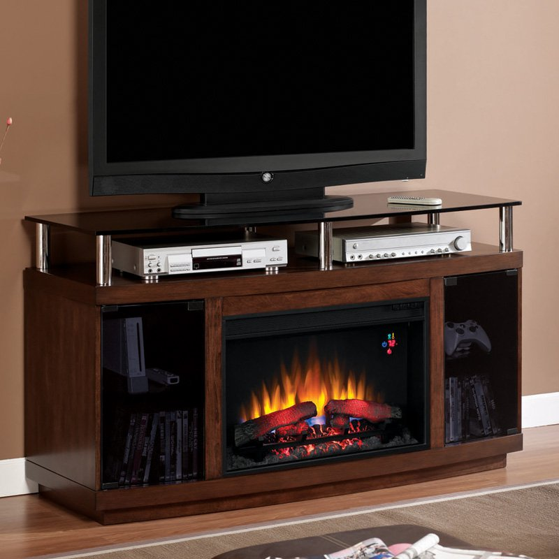 Classic Flame Drew Media Infrared Electric Fireplace - Autumn Birch