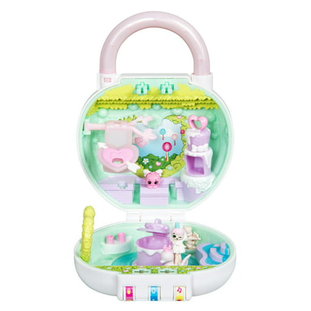 Shopkins Lil Secrets™ Secret Lock Playset, Lovely Hearts Garden (Lil Lockitz Best Friend Party Pack)