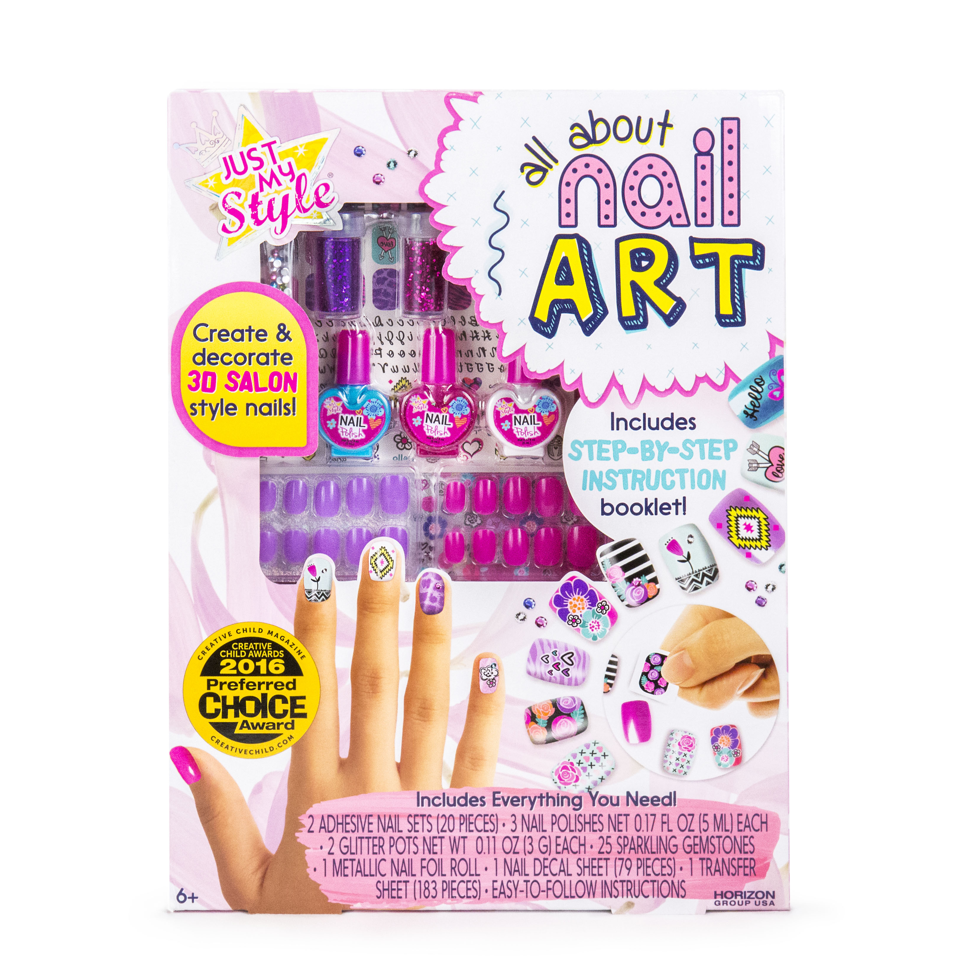 Just My Style All About Nail Art by Horizon Group USA - Walmart.com
